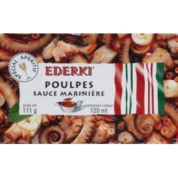 Poulpes sauce marinière, spécial apéritif