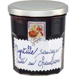 Préparation de fruits Myrtille Sauvage cuite au chau...