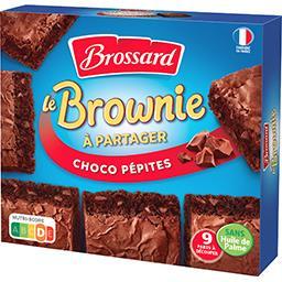 Le mini Brownie chocolat pépites à partager