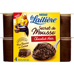 Secret de Mousse - Mousse lactée chocolat noir