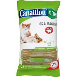 Os à mâcher 100% bœuf pour petit chien <10 kg