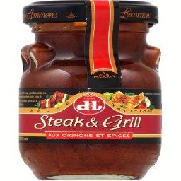 Sauce Steak & Grill l'Originale, sauce relevée