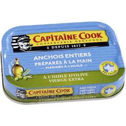 Anchois entiers à l'huile d'olive vierge extra