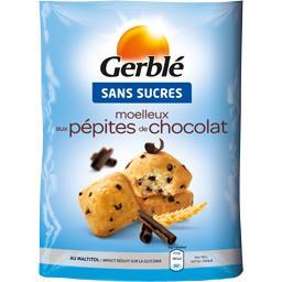Moelleux aux pépites de chocolat sans sucres
