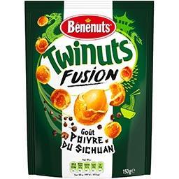 Twinuts - Cacahuètes Fusion enrobées goût poivre du ...