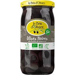 Olives noires BIO aux herbes de Provence