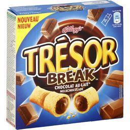 Trésor - Barres de céréales Break chocolat au lait