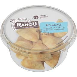 Rikakats fromage de chèvre citron & ciboulette