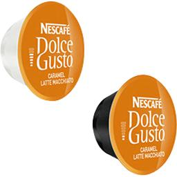 Dolce Gusto - Dosettes Latte Macchiato caramel