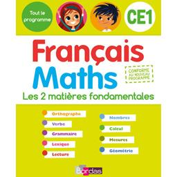 Tout le programme Français / Maths CE1