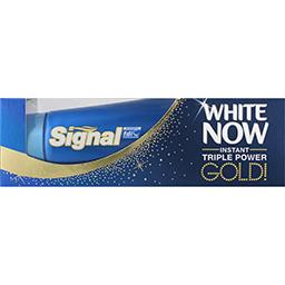White Now - Dentifrice Instant Triple Power Gold
