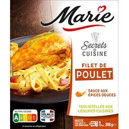 Secrets de Cuisine - Poulet sauce paprika tagliatell...