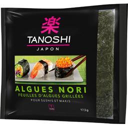 Feuilles d'algues Nori grillées pour sushi