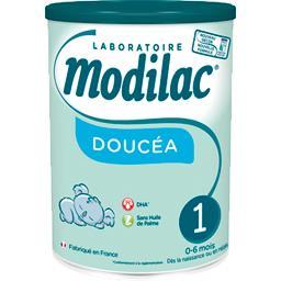 Modilac Lait en poudre Doucéa pour nourrisson 1, de 0-6 mois