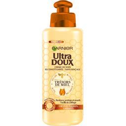 Ultra Doux Crème de soin sans rinçage Trésor de Miel, cheveux f... le flacon de 200 ml
