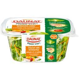 Plaisir Vrai ! - Salade et crudités poulet rôti emmental