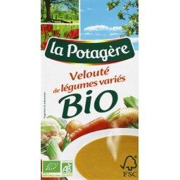 Potage, velouté de légumes variés - BIO
