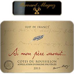 Côtes du Roussillon 'Si mon père savait', vin rouge
