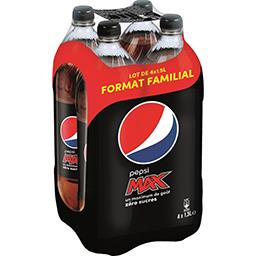 Pepsi Max - Soda au cola zéro sucres