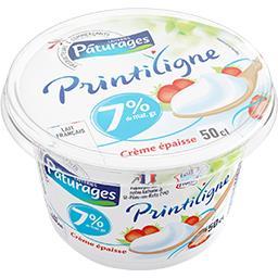 Printiligne - Crème épaisse 7% MG