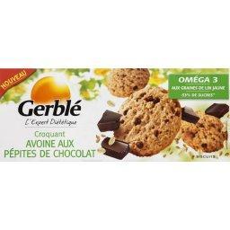 Biscuit croquant avoine aux pépites de chocolat