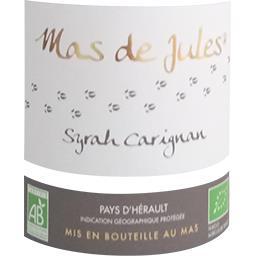 Vin de pays de l'Hérault BIO, vin rouge