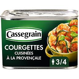 Courgettes cuisinées à la provençale