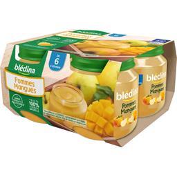 Pommes mangues, de 6 à 36 mois