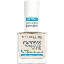 Express manucure white, soin blanchissant pour ongles jaunis/ternes