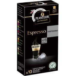 Café capsules Espresso Fortissimo