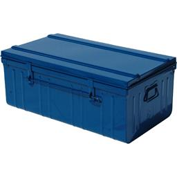 Cantine standard 80 cm bleu + tringle