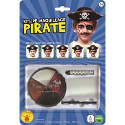 Palette de maquillage garçon pirate
