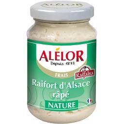 Raifort d'Alsace râpé nature