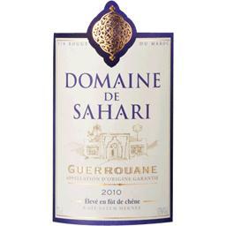 Vin du Maroc rouge Domaine Sahari