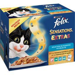 Sensations - Sélection de poissons Extras pour chats