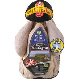 Poulet noir fermier de Bretagne PAC Label Rouge