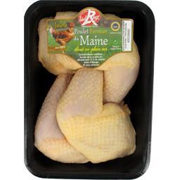 Cuisse de poulet fermier du Maine jaune Label Rouge