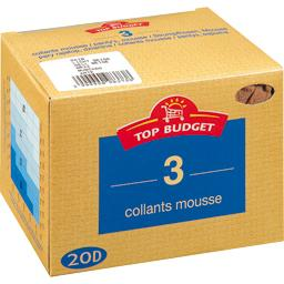 Collants mousse  - 20D -daim T5