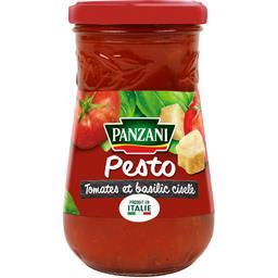 Sauce Pesto tomates & basilic ciselé
