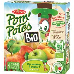 Pom'Potes BIO - Compotes pomme nature BIO