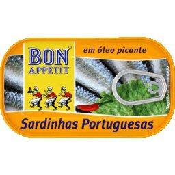 Sardines portugaises piquantes à l'huile végétale