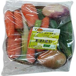 Croquembal Mélange de légumes bio pour pot au feu Le sachet de 800 gr