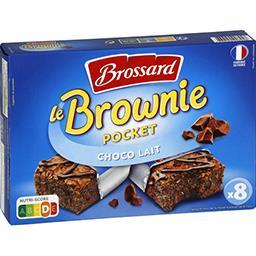 Le Mini Brownie chocolat au lait pépites de chocolat