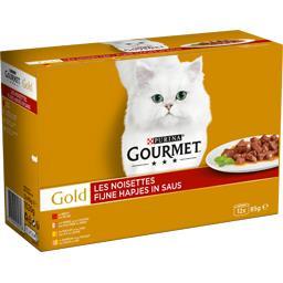 Gold - Les Noisettes aux viandes pour chats