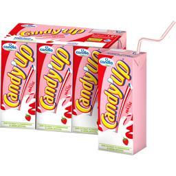 Candy'Up - Boisson lactée goût fraise