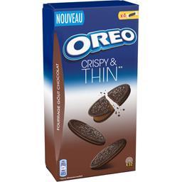 Biscuits Crispy & Thin fourrage goût chocolat