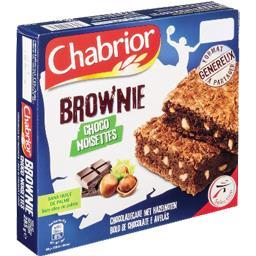 Brownie choco noisettes