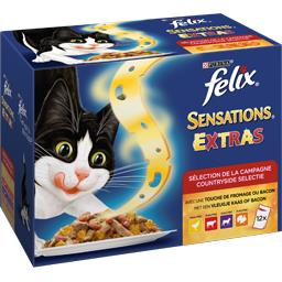 Sensations Extras Sélection de la campagne pour chat