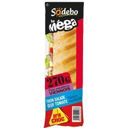 Sandwich viennois thon salade œuf tomate - Le Méga