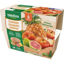 Desserts pommes goyaves ananas, de 8 à 36 mois